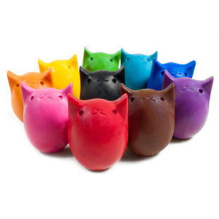 Picture of Cool Kitty Crayons