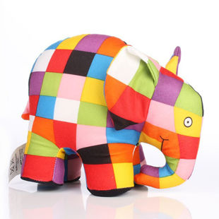 Picture of Colorful Soft Elephant