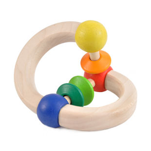 Picture of Wooden Color Rattle