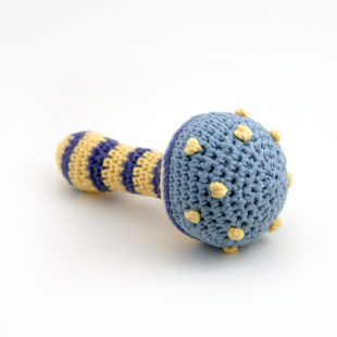 Picture of Knitted Baby Rattle