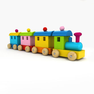 Picture of Colorful Toy Train