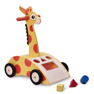 Picture of Giraffe Push Walker
