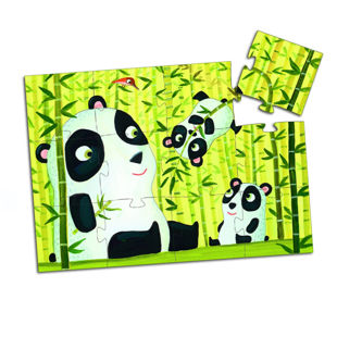 Picture of Disco Panda Floor Puzzles