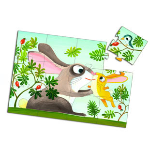 Picture of Bunny Floor Puzzles