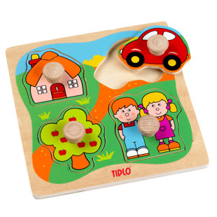 Picture of Tidlo Peg&Nob Puzzle