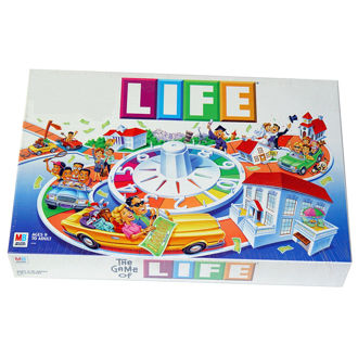 Picture of Life Board Game