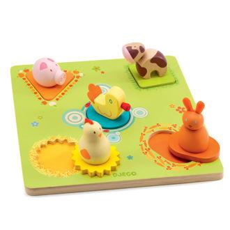 Picture of Farm Peg&Nob Puzzle